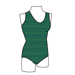 Children's One Piece Swimsuit