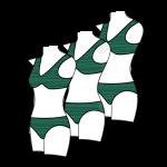Women's Bikini Style Swimsuits